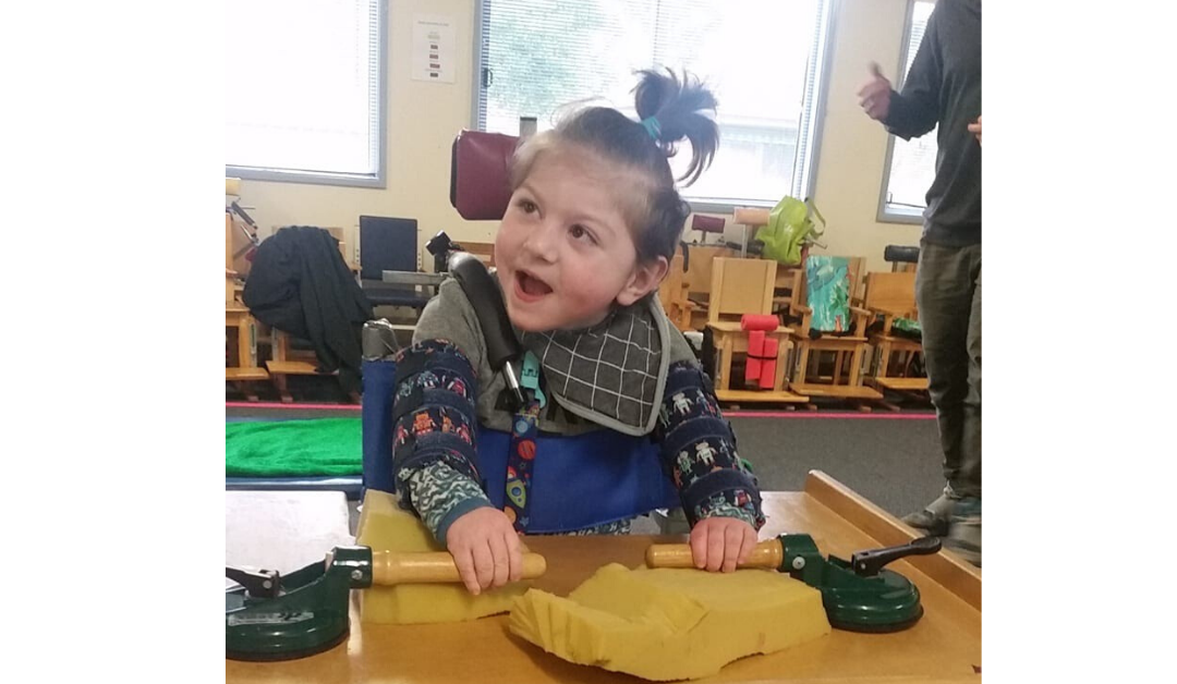 Our support for Cerebral Palsy Education Centres continues